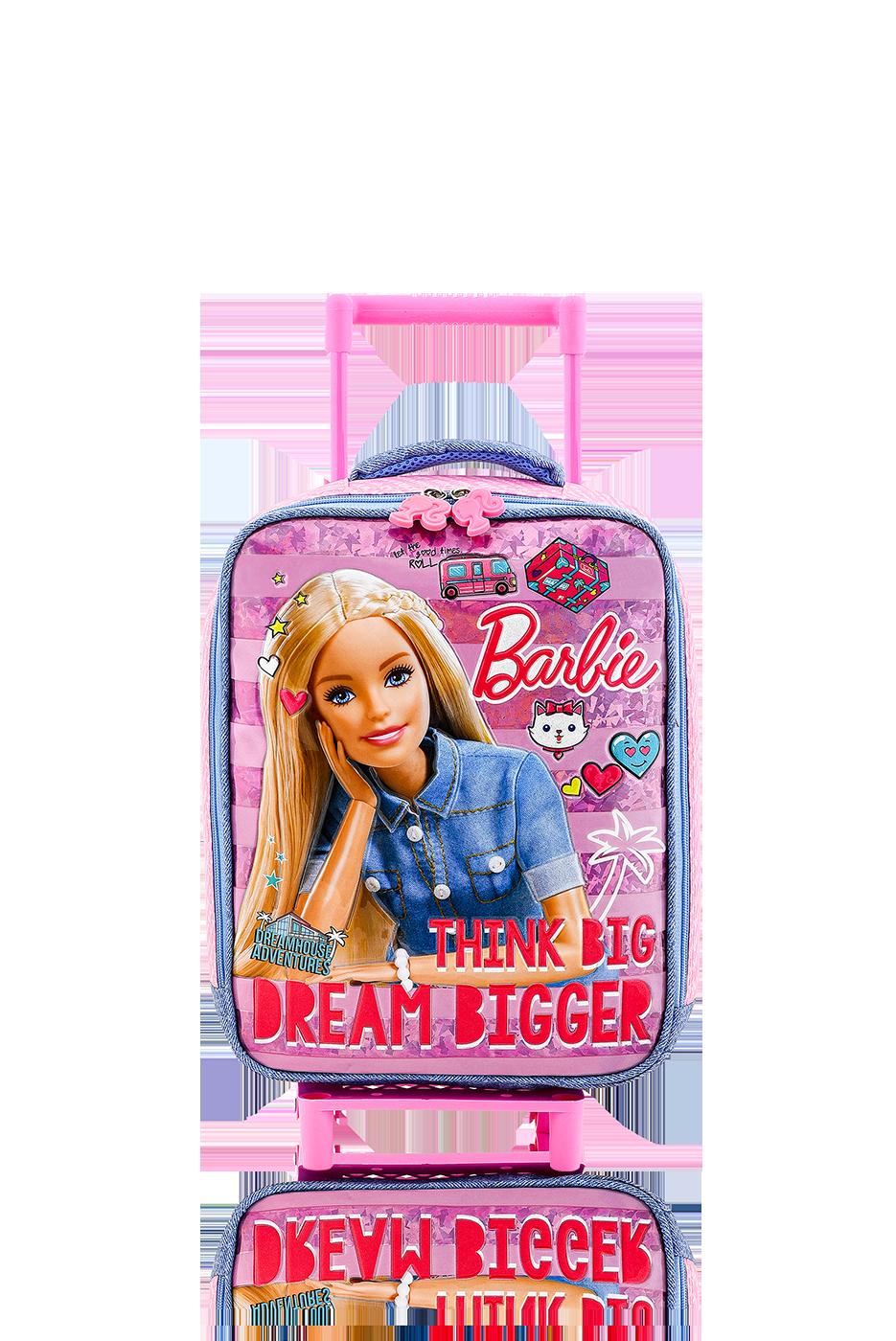 Barbie - BARBIE Çekçekli Anaokulu Çantası / Dreamhouse Jean