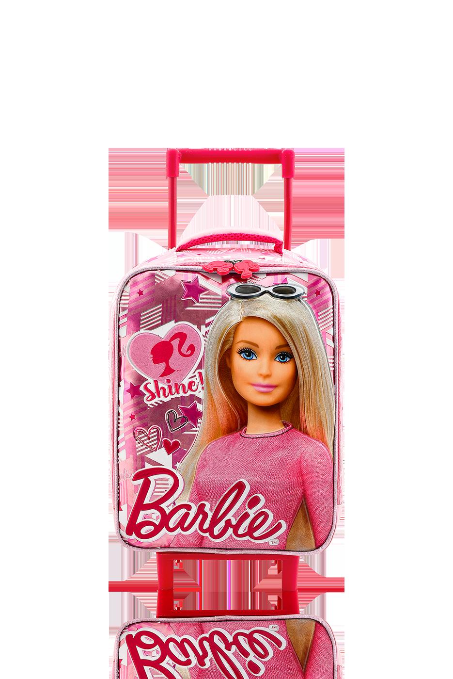 Barbie - BARBIE Çekçekli Anaokulu Çantası / Shine Pink