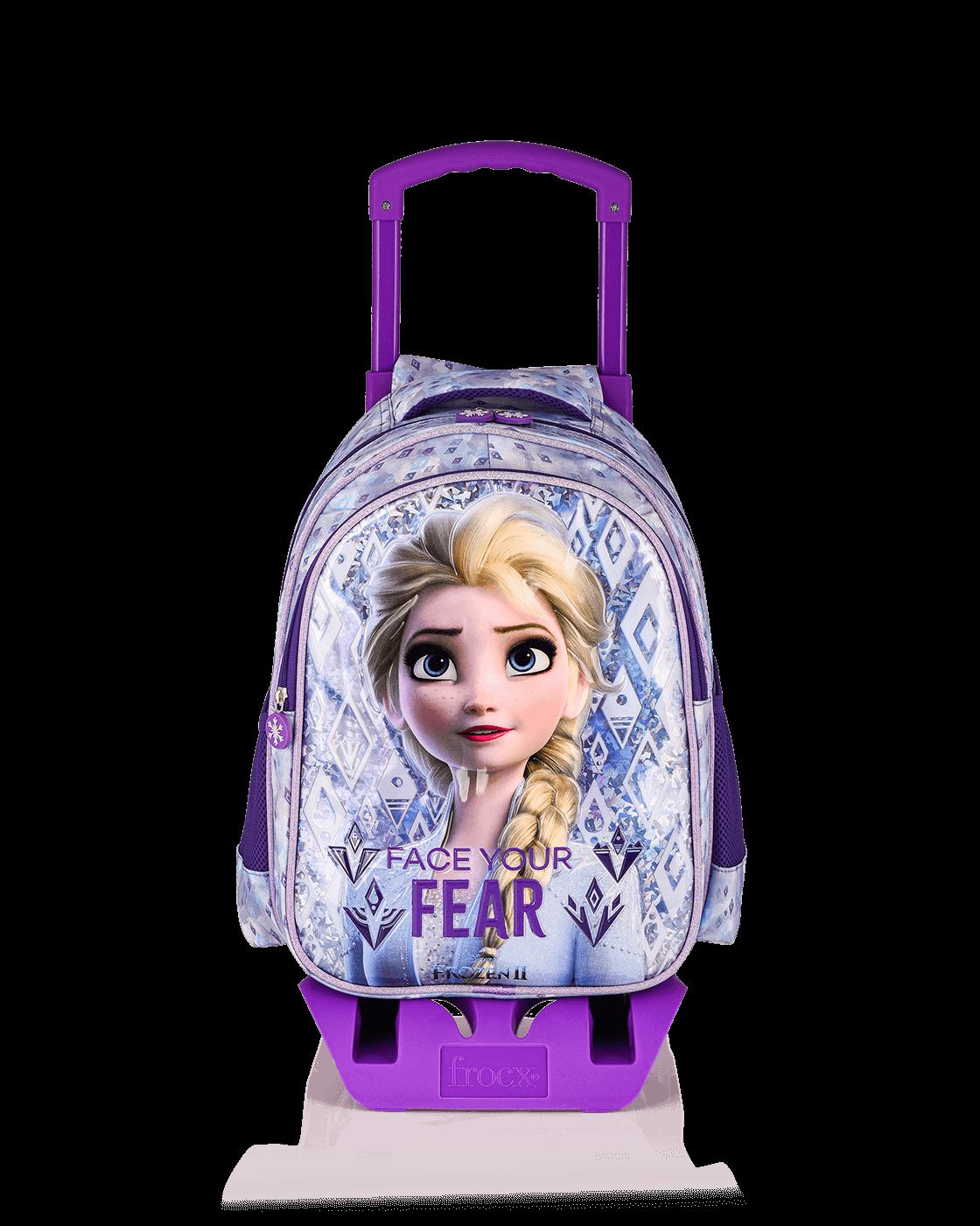 Frozen - FROZEN Çekçekli İlkokul Çantası / Face Your Fear