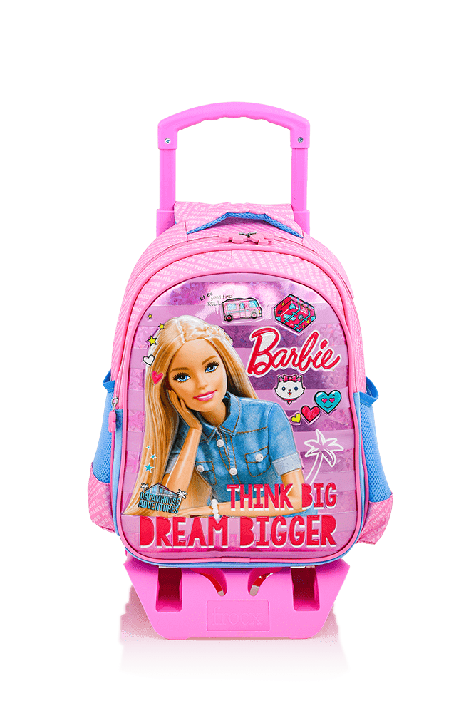 Barbie - BARBIE Çekçekli İlkokul Çantası / Dreamhouse Jean