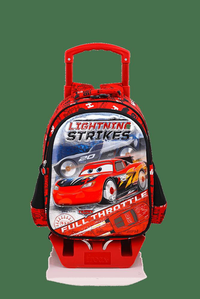 Cars - CARS Çekçekli İlkokul Çantası / Rocket Racing