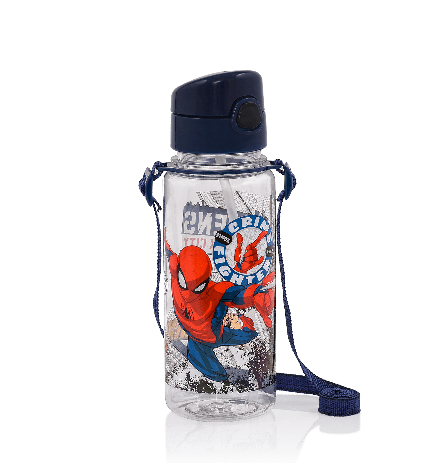 Spiderman - SPIDERMAN PLASTİK MATARA / WHITE JUSTICE